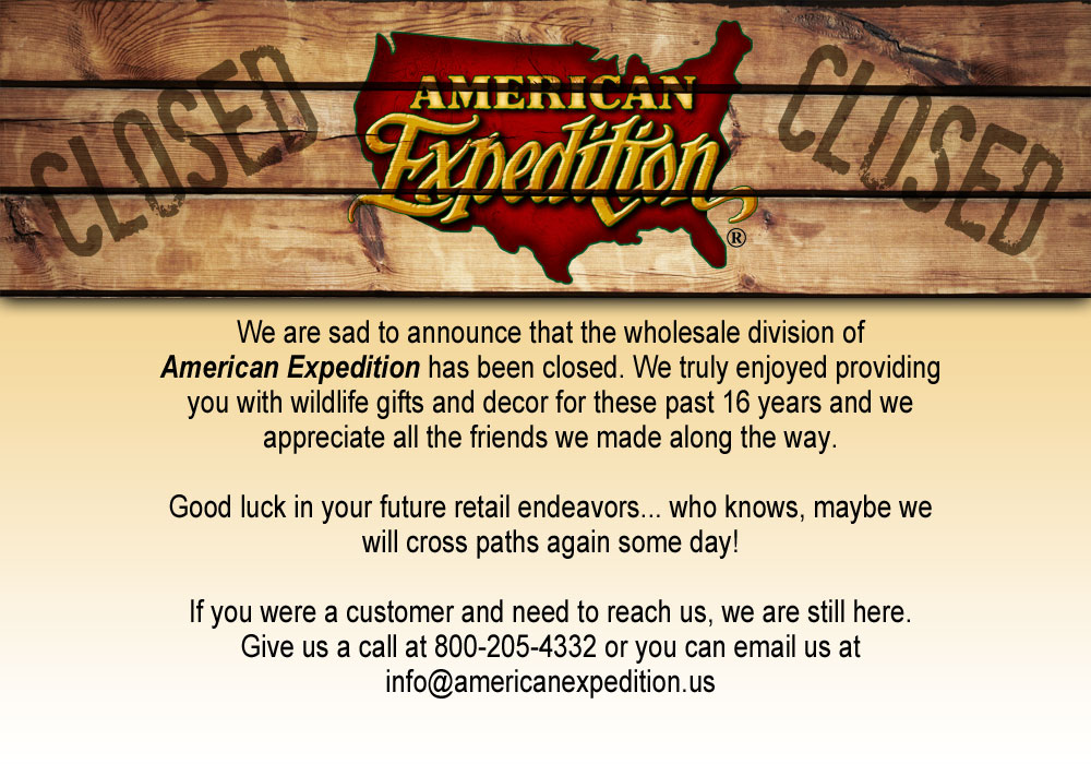 American Expedition Wholesale is closed